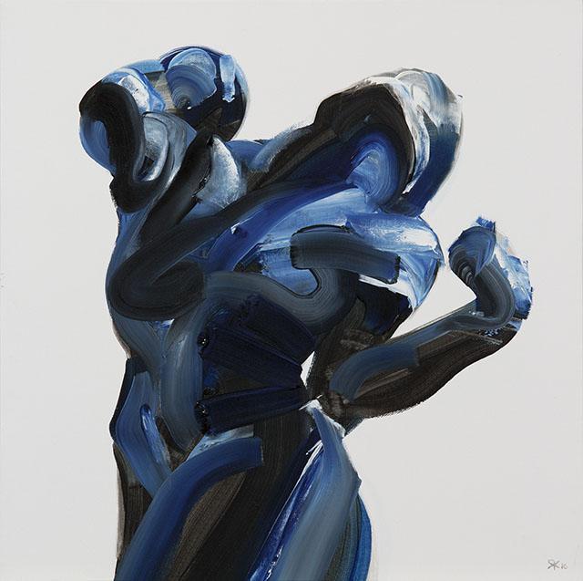 Salman Khoshroo, Palette Knife Figures #artpeople