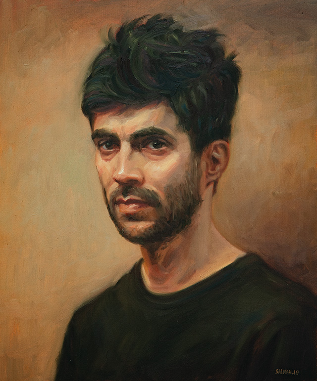 Self portrait Salman Khoshroo 2019